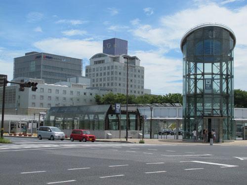 Tsukuba Station, Ibaraki