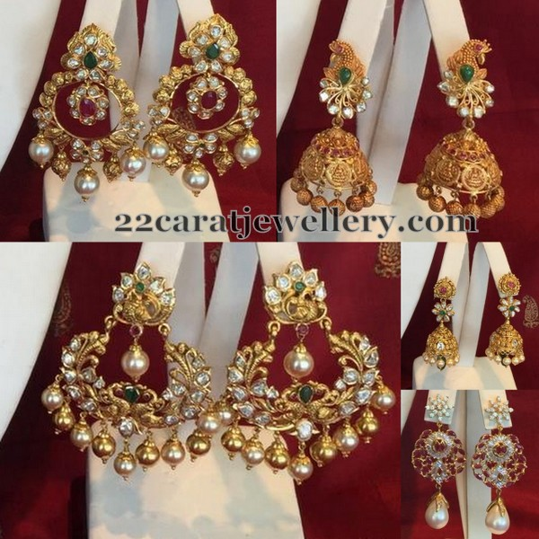 Unique Earrings by Shree Jewellers