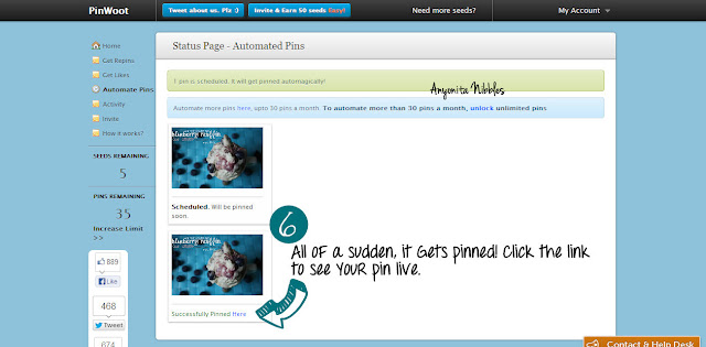 Autoschedule your pins on Pinterest step 6 from www.anyonita-nibbles.com