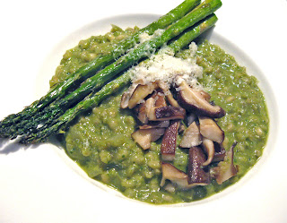 Burp! Recipes: Asparagus & Shiitake Risotto