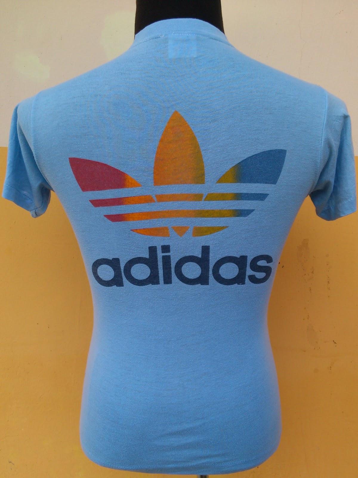 Chakoi bundle vintage 80 39 s adidas adicolour track for Adidas classic t shirt