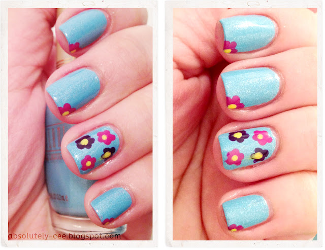 Milani Beach Front Flower Accent Nail