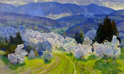 Антон Кашшай, Верховинный пейзаж, 1984