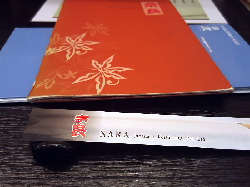 Nara Japanese Restaurant Epping Menu