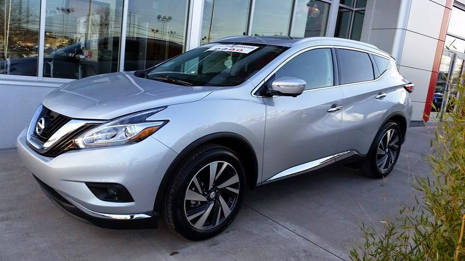 The 2015 Nissan Murano At Hoselton Nissan In East Rochester, New York