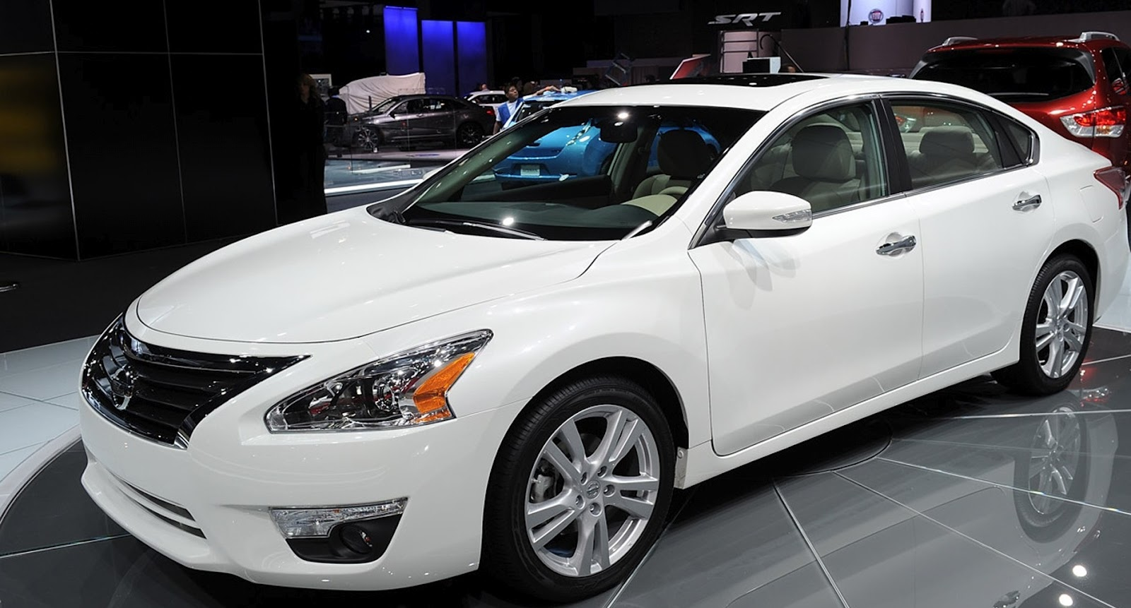 CAR GARAGE | Nissan Altima (2013) | The 2013 Altima Gets The Nissan Connect  SM And Advanced Drive Assist Display (ADAD) Installed.
