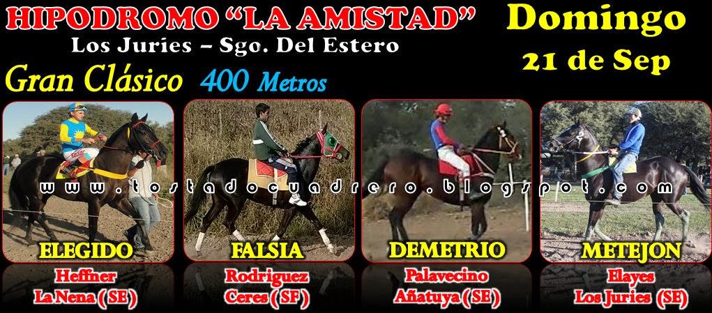 CLASICO LOS JURIES 400