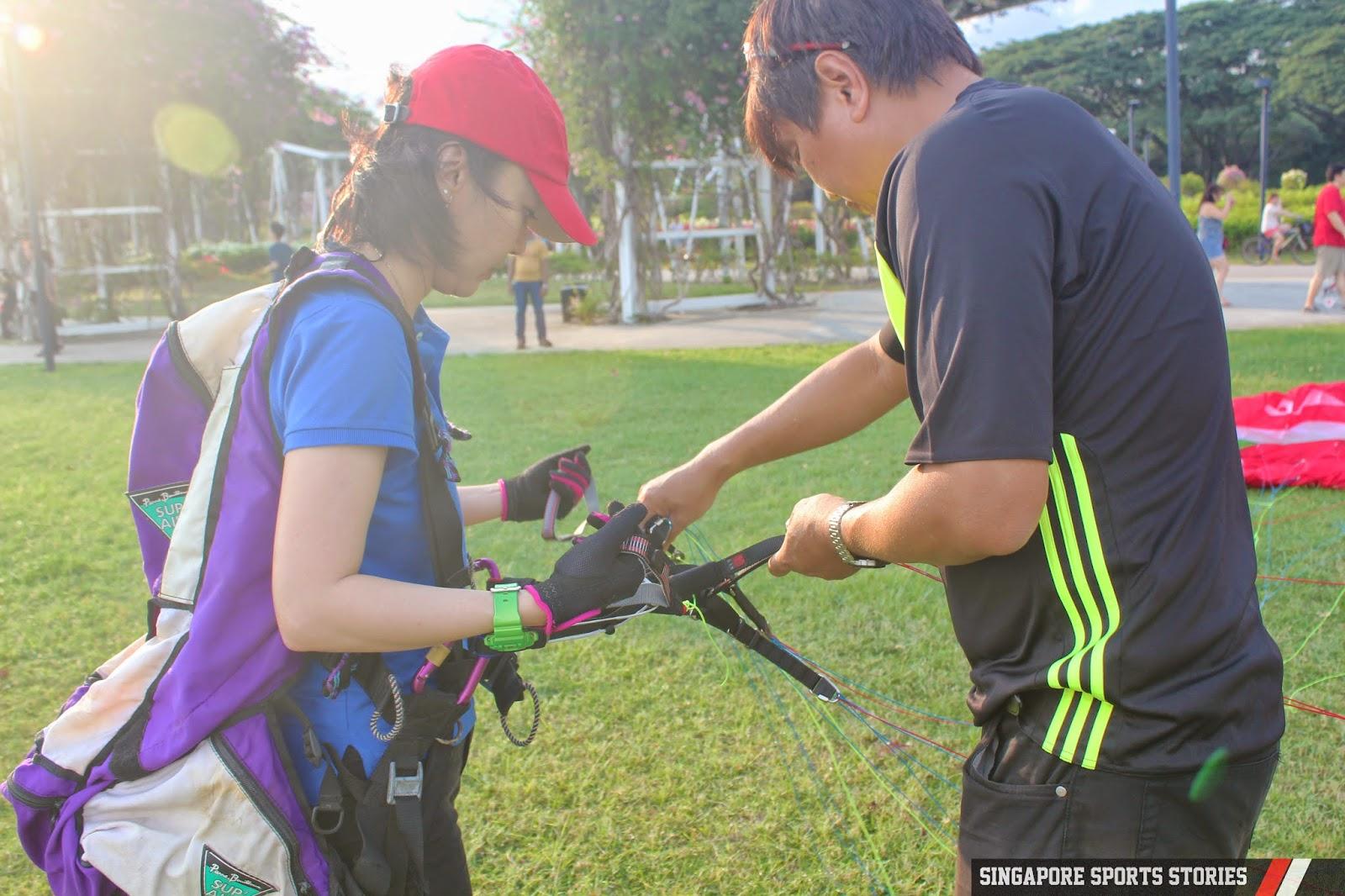 Singapore Paragliding