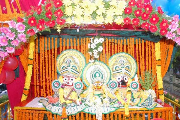 ISKCON Temple Vishakhapatnam (Andhra Pradesh), India
