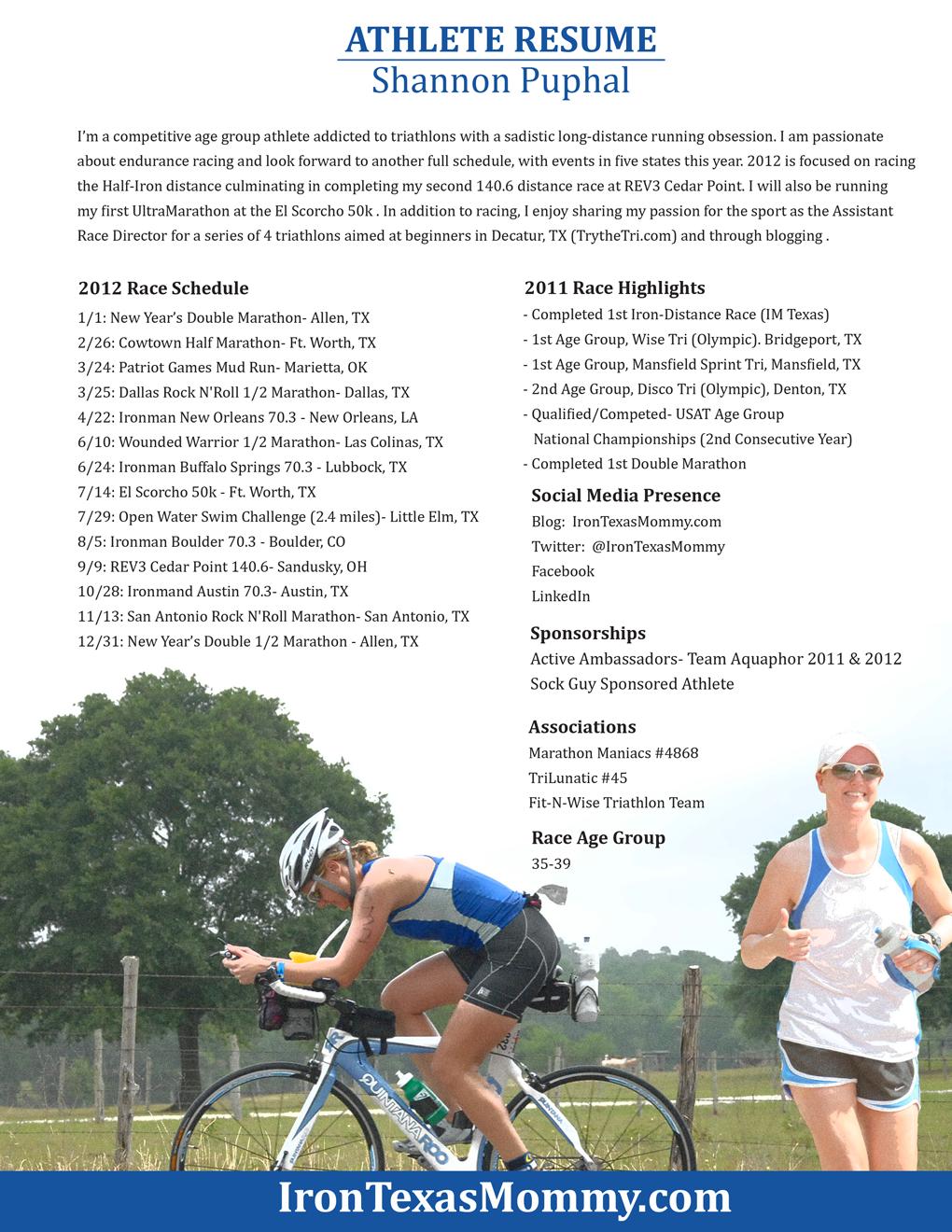 Athletic Resume athletic resume Professional Athlete Resumes