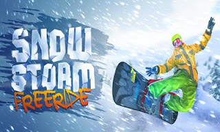 Screenshots of the Snow Storm Free Raid for Android tablet, phone.