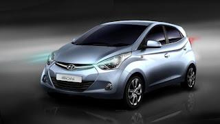 Hyundai Eon Front View