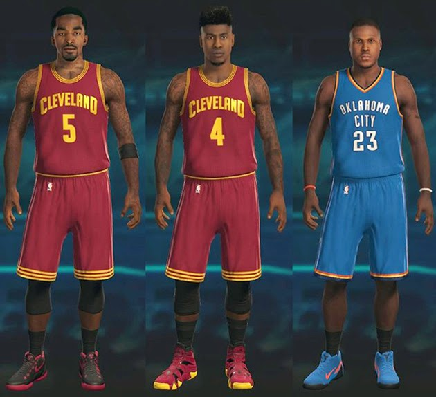 Iman Shumpert, J.R. Smith, Dion Waiters Trade | NBA 2K15 Update