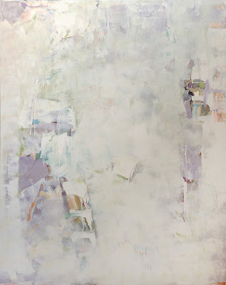 Abstract painting by Karri Allrich. Title: Lost and Found 60x48 inches 2013