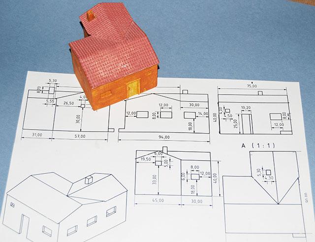 Scratch escenografia y miniaturas casa para wargames - Hacer planos de casa ...