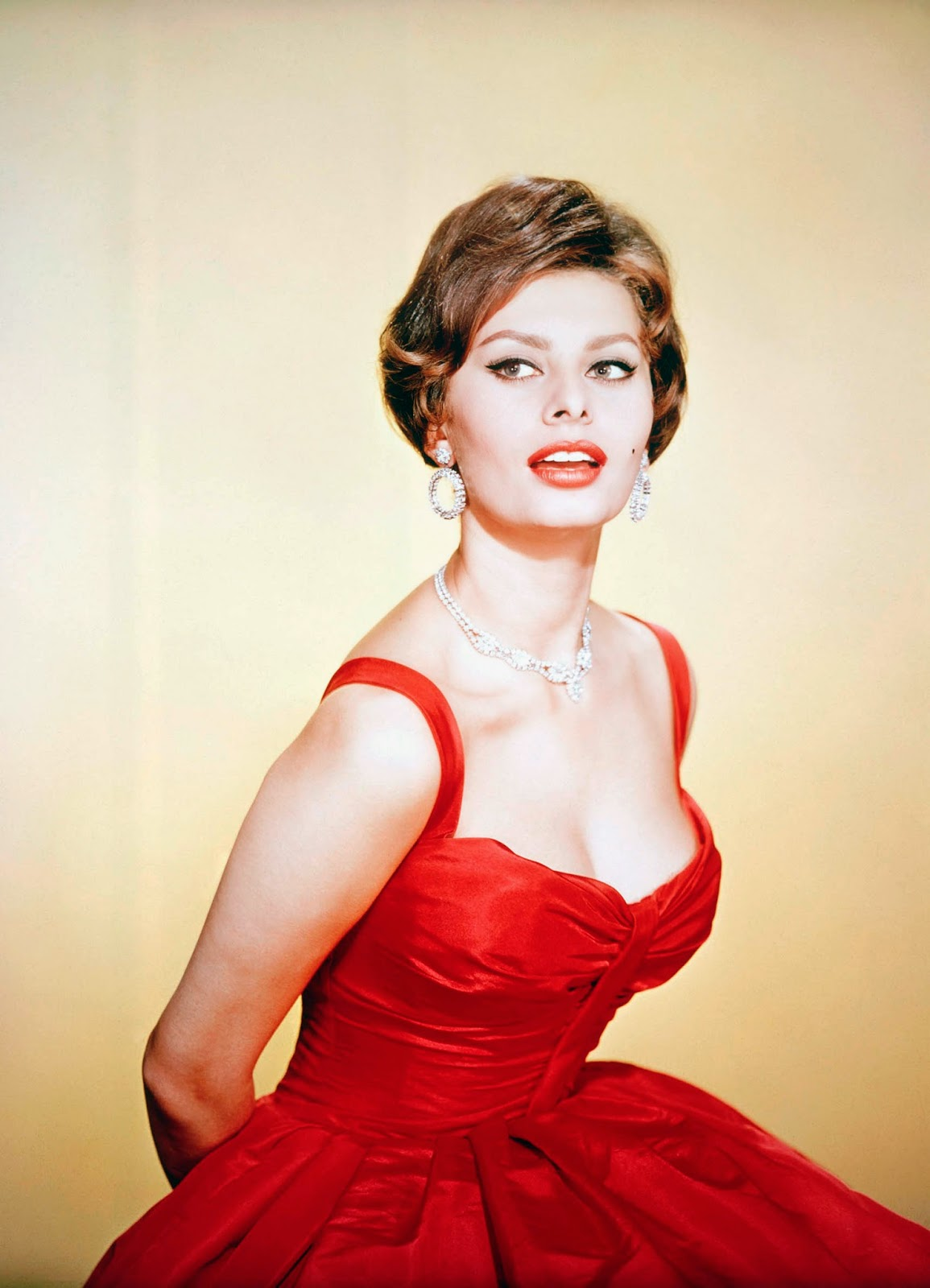 A Slice Of Cheesecake Sophia Loren In Color
