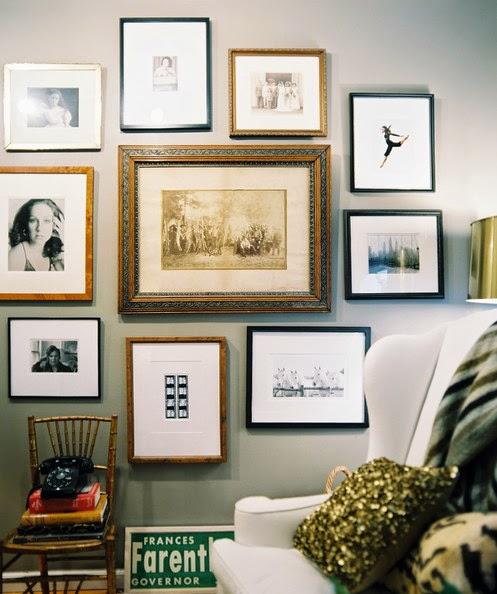 The Living Room Manchester Gallery: PAREDES: COMPOSICIÓN DE CUADROS ATREVIDAS