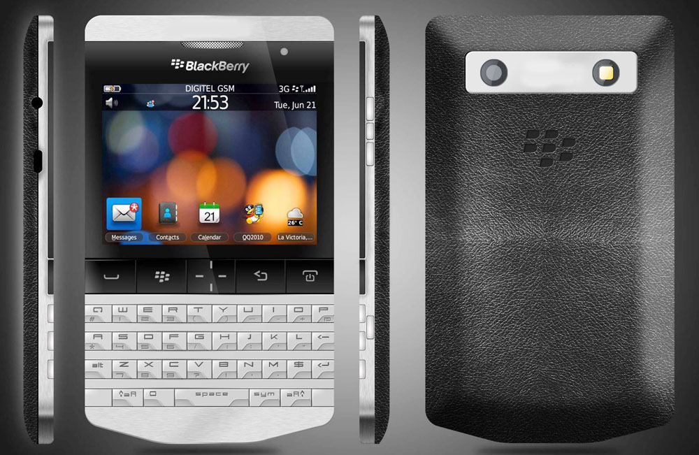 Blackberry Porsche Price cost &#163;1,275, P'9981 Design Now Available