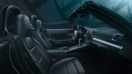 Porsche 911 Black Edition- interior