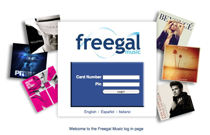 how to get music from freegal to itunes