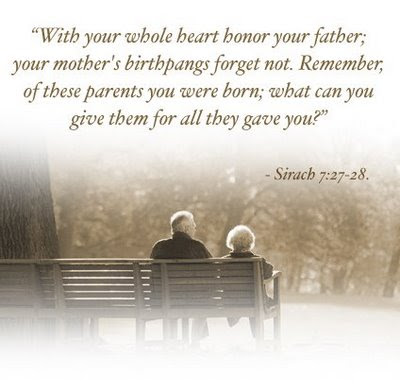 essay on honoring your parents Why should we respect and support our parents parents in this manner and let us all respect and support our parents while they are alive and extend our.