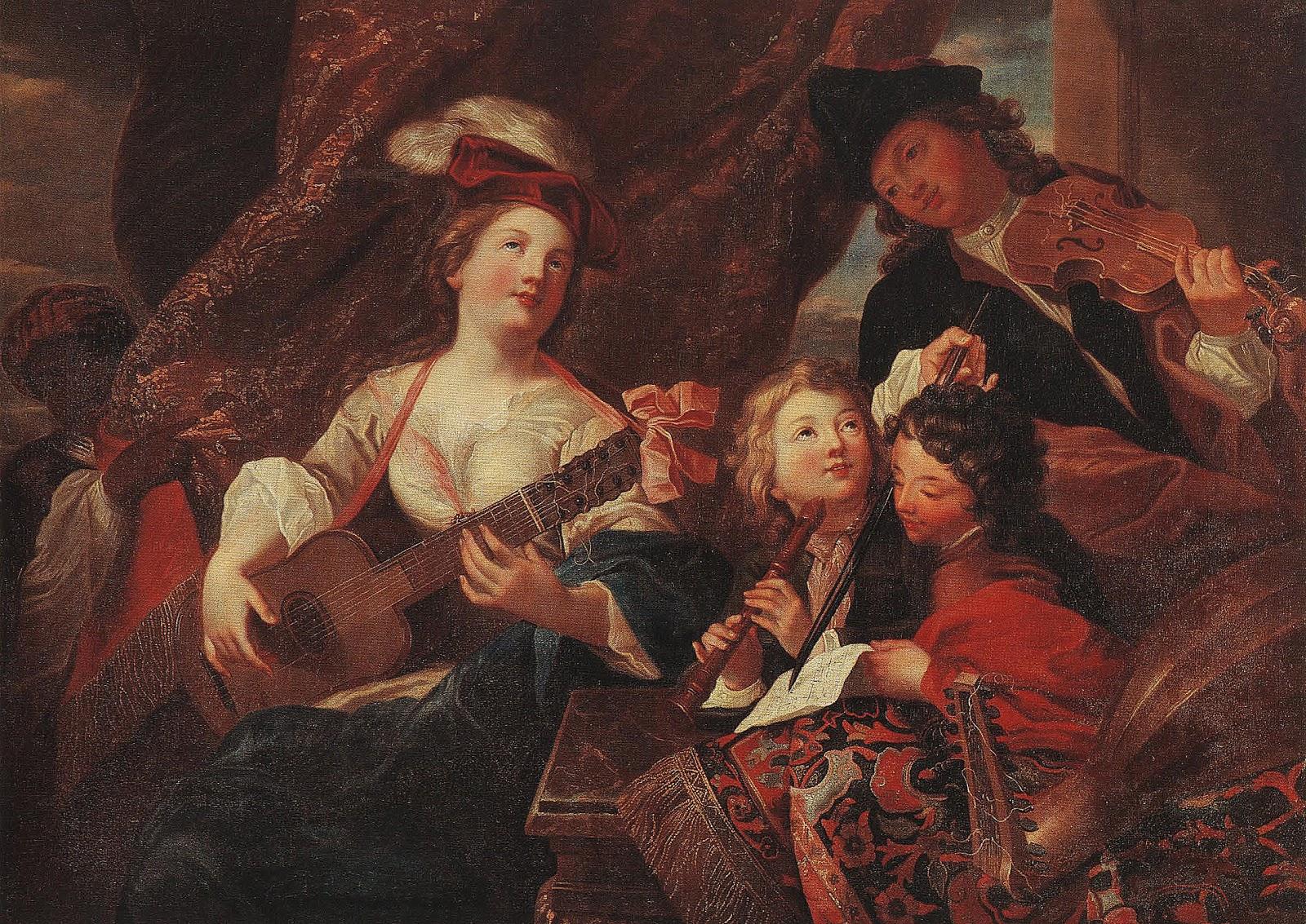 Musée Mandet Musings: La leçon de musique / The Music Lesson