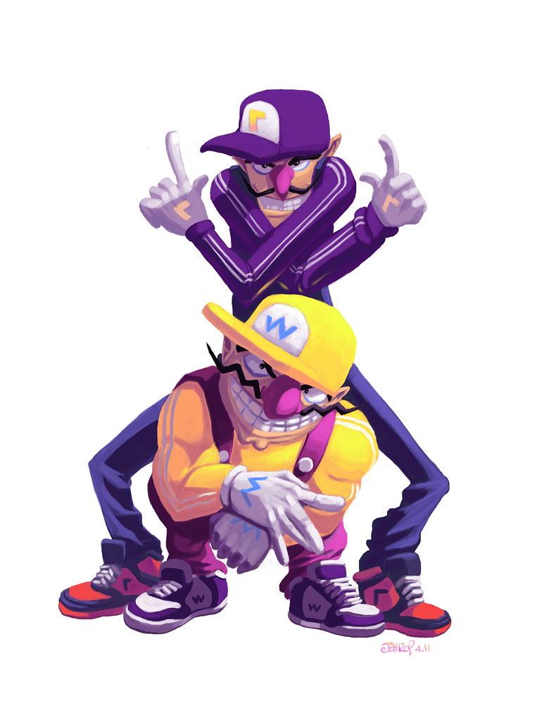 Wario  amp  WaluigiWario And Waluigi Wallpaper