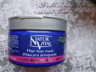 Recenzja: NaturVital, Maseczka do włosów osłabionych i skłonnych do wypadania.