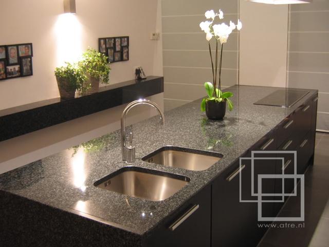 Natuursteen Achterwand Keuken : Inspiratie in natuursteen: IKEA keukenbladen