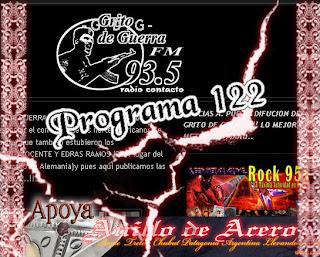 GRITO DE GUERRA - Programa N° 122 (2011)
