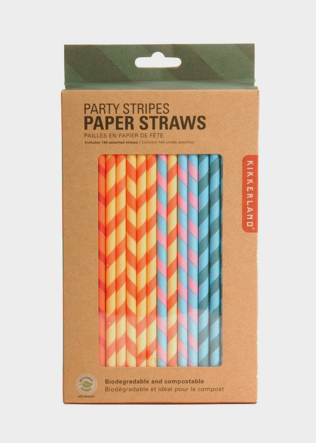 green  gardenia simple  inspiring kikkerland paper straws - have you noticed the cute paper straws at target and elsewhere kikkerlandhas packaged them by the gross so you get a lot more for a better price