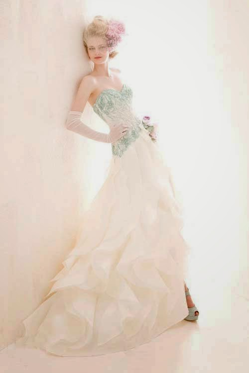 Colorful Wedding Dresses by Atelier Aimee