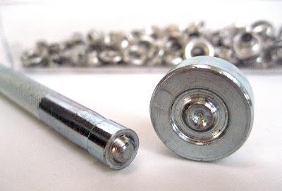 rivet setter and anvil
