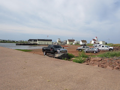 Sandy Shore Parking North Rustico Harbour