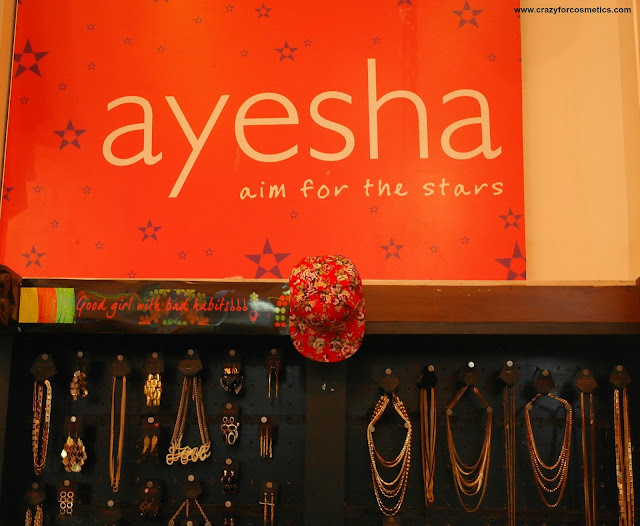 Ayesha Accessories Showroom Chennai
