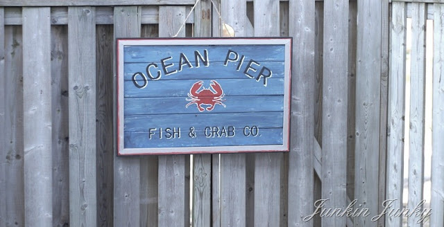 Ocean Pier PB knock off at JunkinJunky.blogspot.com