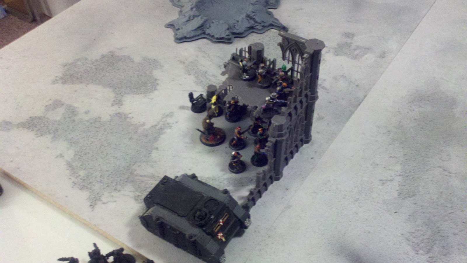 Coteaz and his band of 12 Warriors take objective #2 and set up a ...