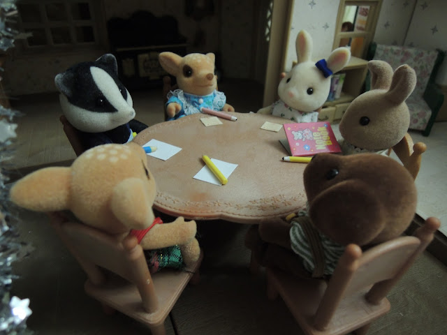 Sylvanian Families Meeting Children School