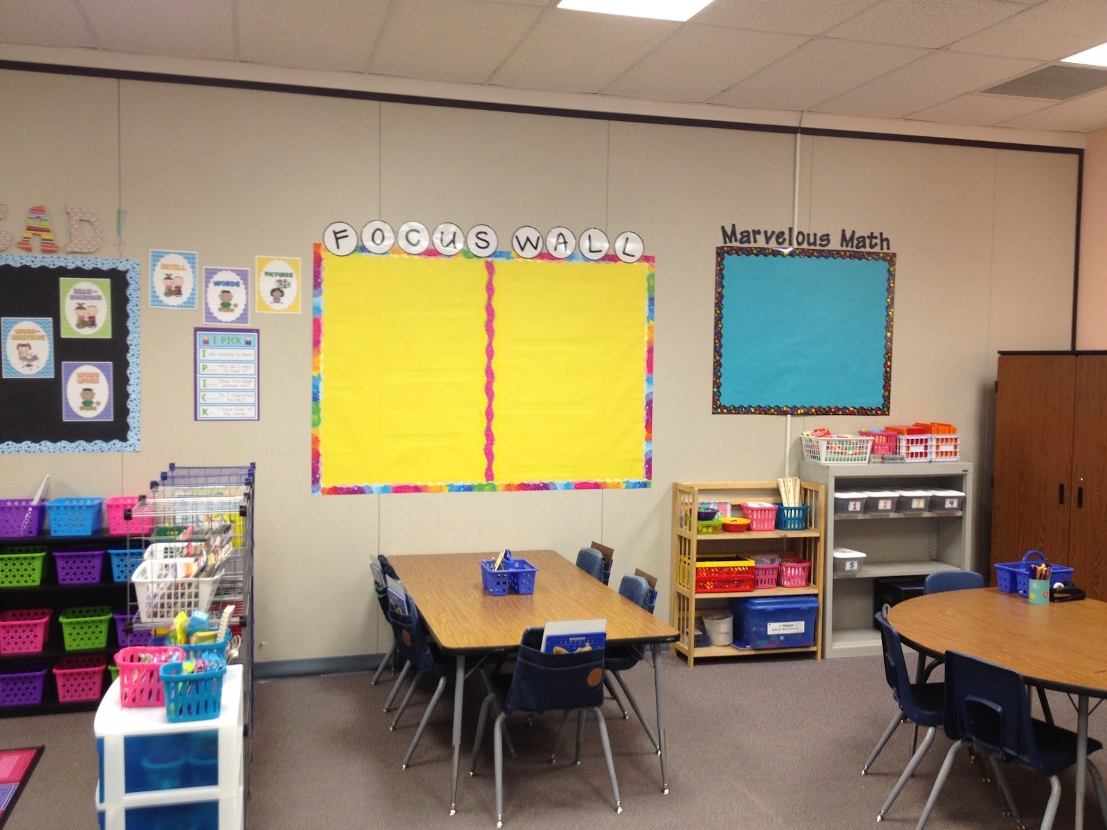 Innovative First Grade Classroom ~ Susan jones teaching finally done word wall cards