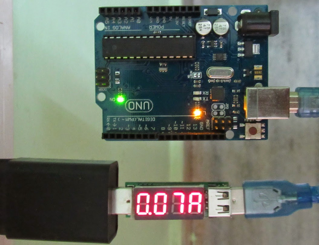 USB - Current reading for arduino