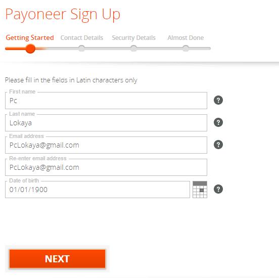 නොමිලේ Payoneer Master Debit Card එකක් ගෙදරටම ගෙන්න ගමු