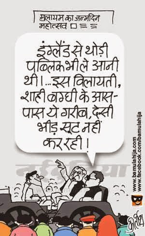 mulayam singh cartoon, common man cartoon, poverty cartoon, cartoons on politics, indian political cartoon