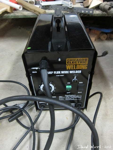 cheap harbor freight welder, flux, easy