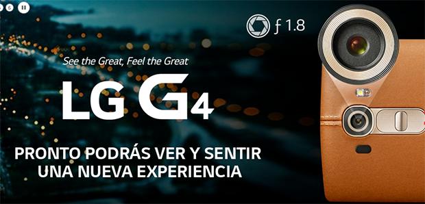 Llega el Nuevo LG G4 con cubierta de cuero