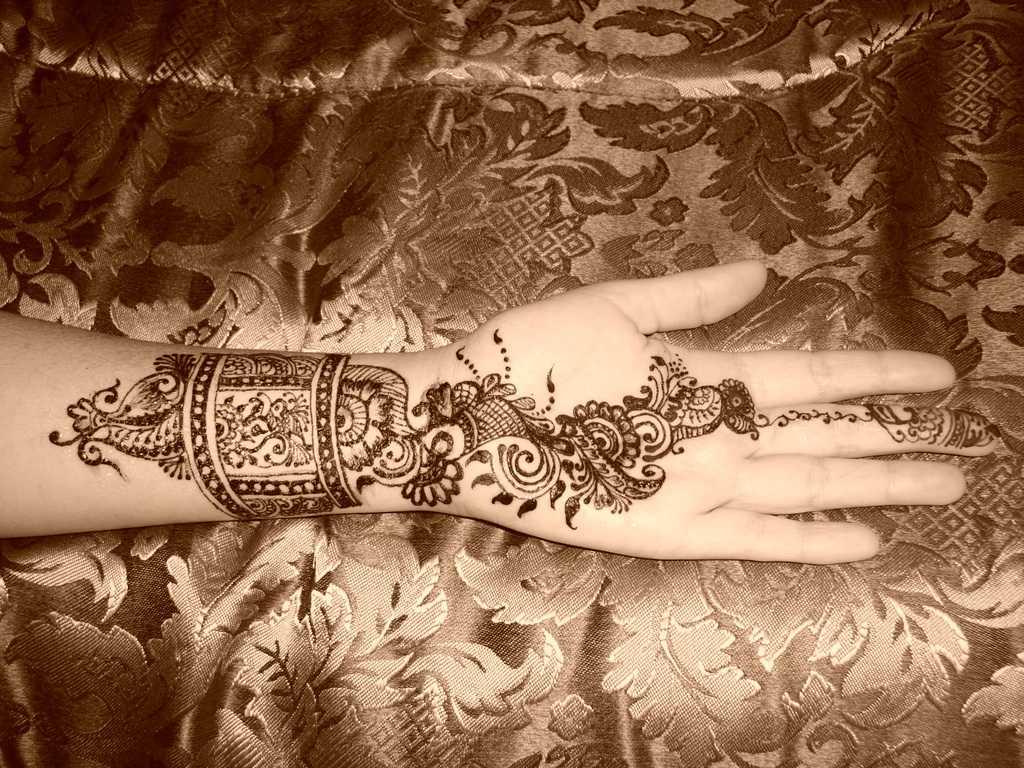 Mehndi Bridal Arabic : Mehandi designs bridel design arabic