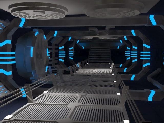 David genest portfolio l 39 int rieur d 39 un vaisseau spacial for Interieur vaisseau spatial