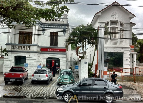 Melhor de santos casas antigas de santos avenida ana costa - Casas de banco santander ...