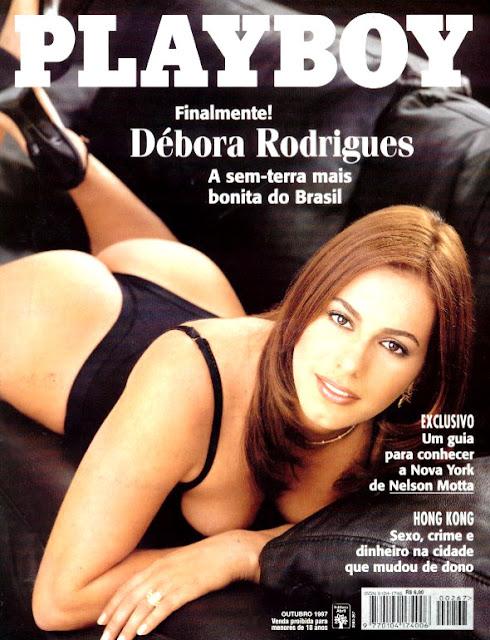 Débora Rodrigues - Playboy 1997