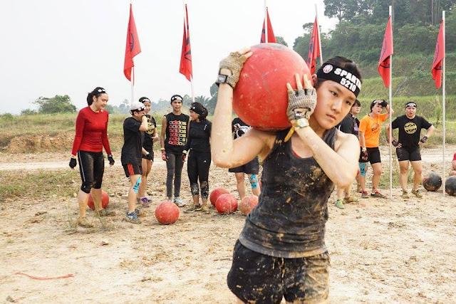 Atlas ball carry spartan race malaysia 2015