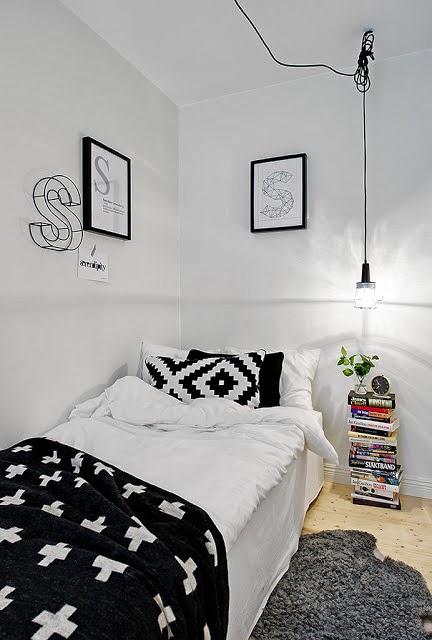 Decoraci n f cil dise o para un dormitorio peque o - Diseno de dormitorios pequenos ...
